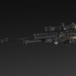 BMT 03 + Bipod + Scope NATO 8x, 14x, 20x, 26x + Silencer + Extended Mag