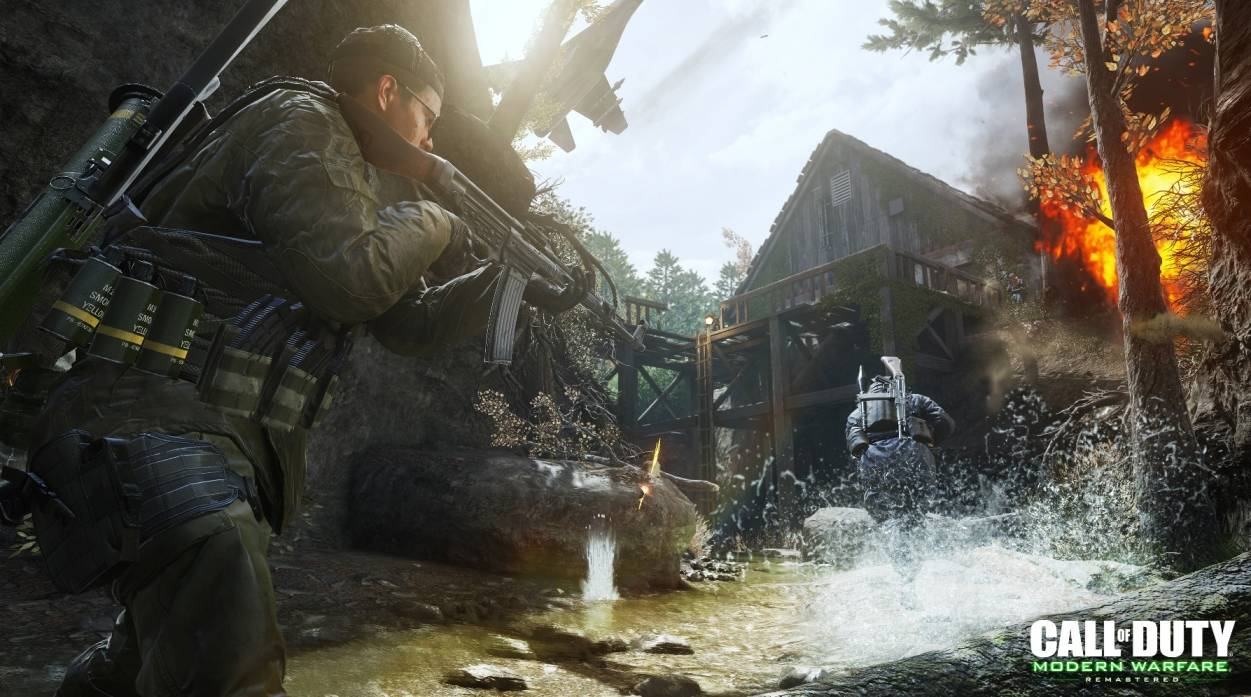 Call of Duty Modern Warfare Remastered_Variety Map Pack_Creek