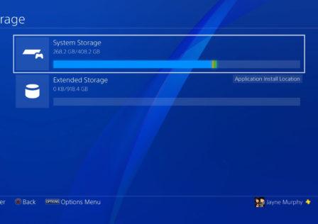 Disco esterno PS4