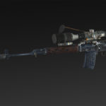 Dragoon SVD + silencer + extended magazine + RUS 4x, 14x, 24x, 34x scope