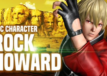 KOF XIV Rock Howard