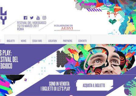 Lets Play Festival del videogioco