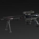 McMillan TAC-338 + silencer + bipod