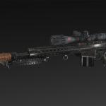 Rook SS-97 + Bipod + Medium Mag + Silencer + Scope NATO 8x, 16x, 32x