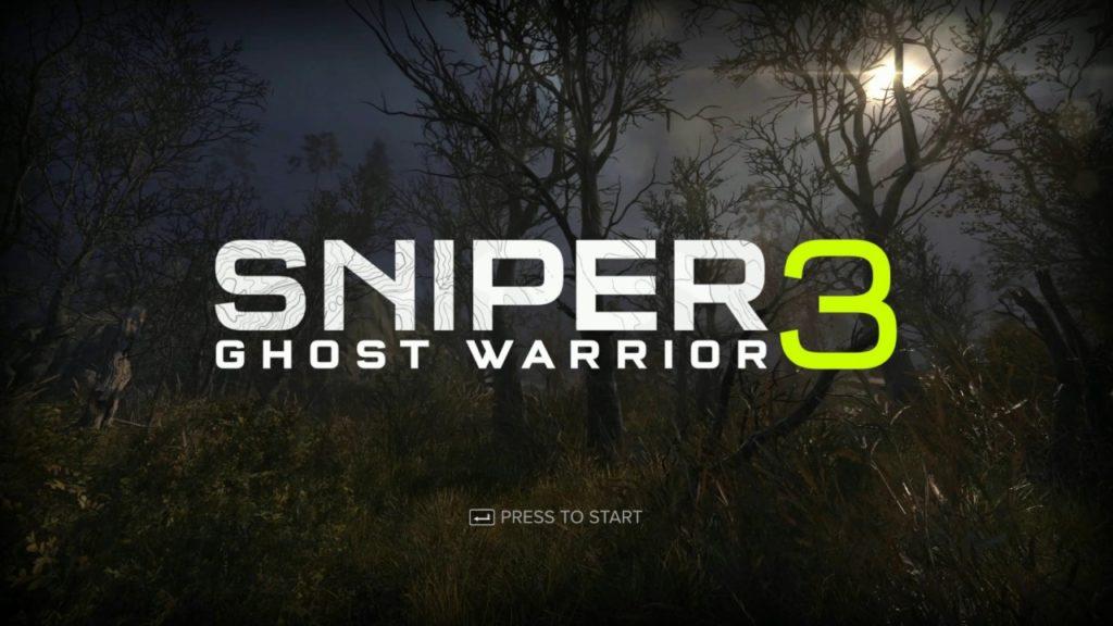 Sniper Ghost Warrior 3 A