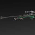 Stronskiy 98 + Bipod + Silencer + Extended Mag + Scope RUS 10x