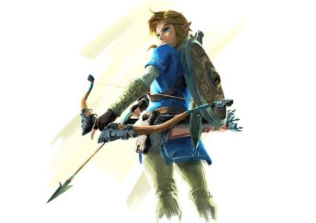 The-Legend-of-Zelda-Breath-of-the-Wild-link-bow-nintendo