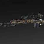 XM-2015 + Bipod + Silencer + Extended Mag + Scope NATO 8x, 14x, 20x, 26x