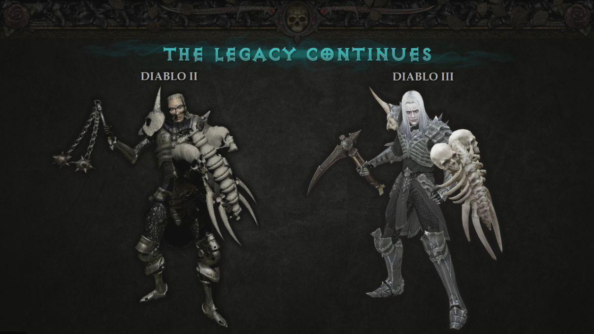 Necromancer Diablo 3 VS Diablo 2