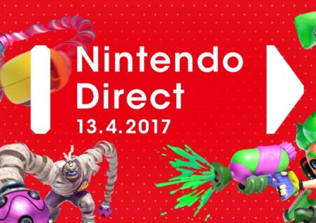 Nintendo direct Arms splatoon 2