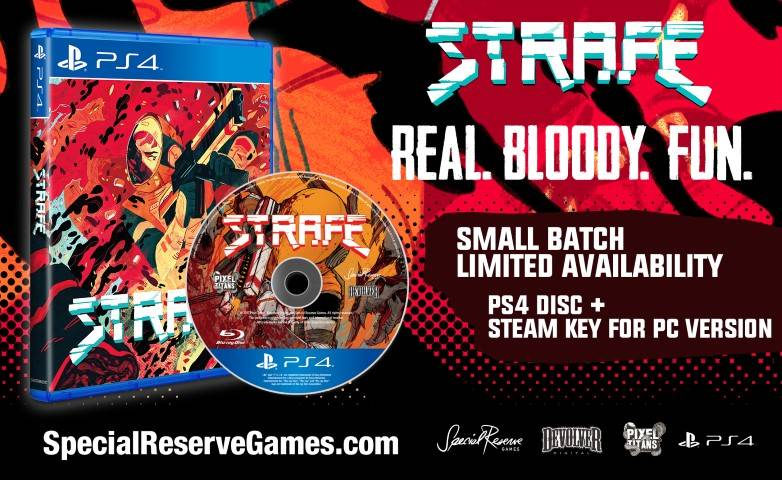 STRAFE - Special Reserve PS4