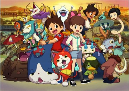 Yo Kai Watch Spiritossi