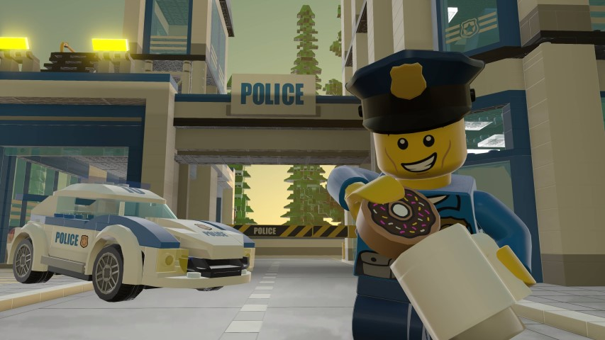 LEGO Worlds_LEGO City Poilceman and Police Car