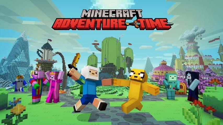 Minecraft-Adventure-Time