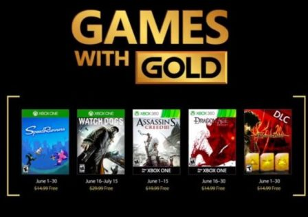 games with gold giugno 2017