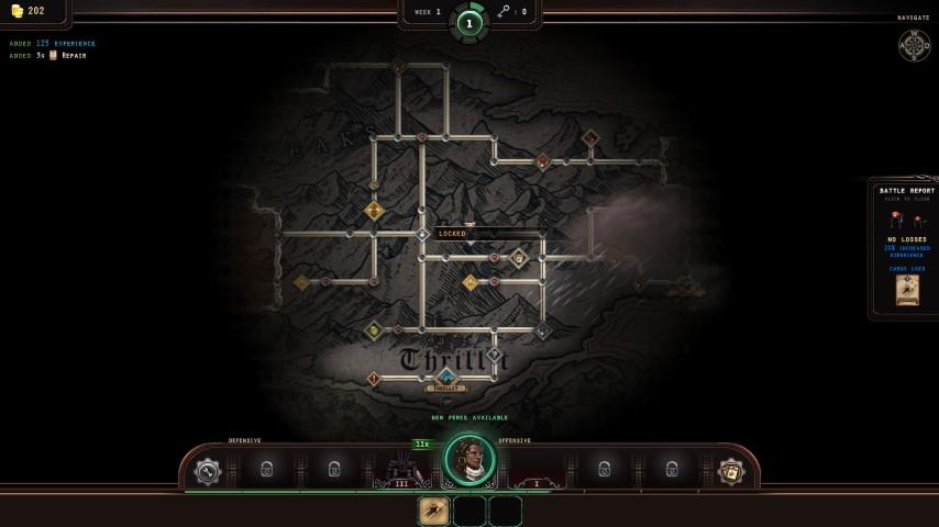 Acaratus-Mappa di gioco