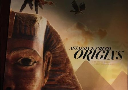 Assassin's Creed Origins Copertina Gameinformer