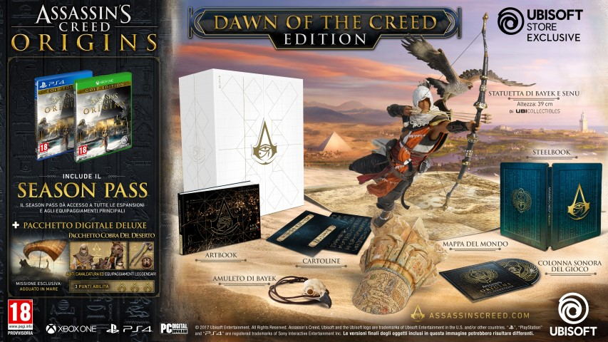 Assassin's Creed Origins_COLLECTOR_DOTC_IT