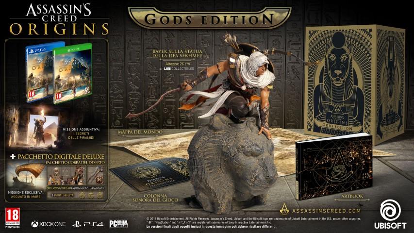 Assassin's Creed Origins_COLLECTOR_GODS_IT