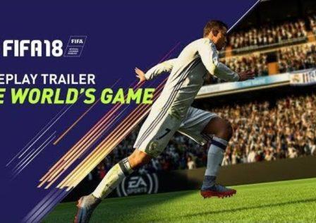 Fifa 18 Trailer gameplay