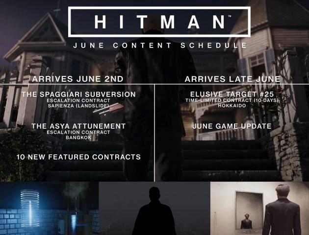 Hitman JuneContentSchedule