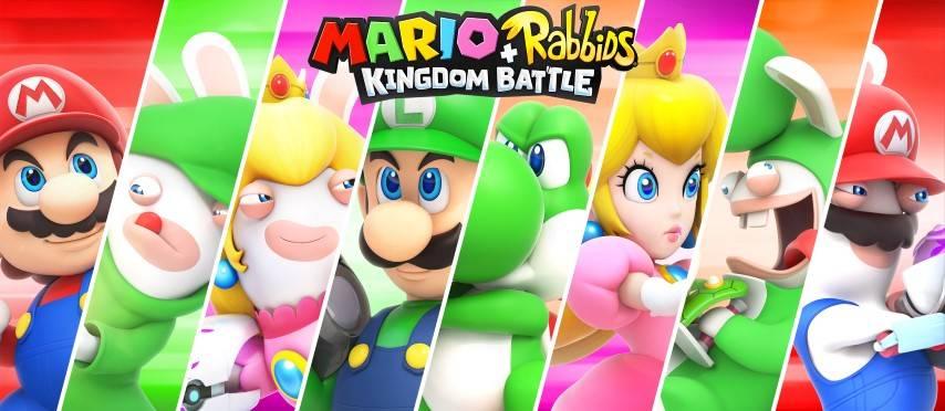 Mario + Rabbids Kingdom Battle Artwork_heroes