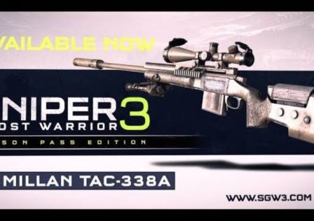 Sniper Ghost Warrior 3 McMillan Tac-338A