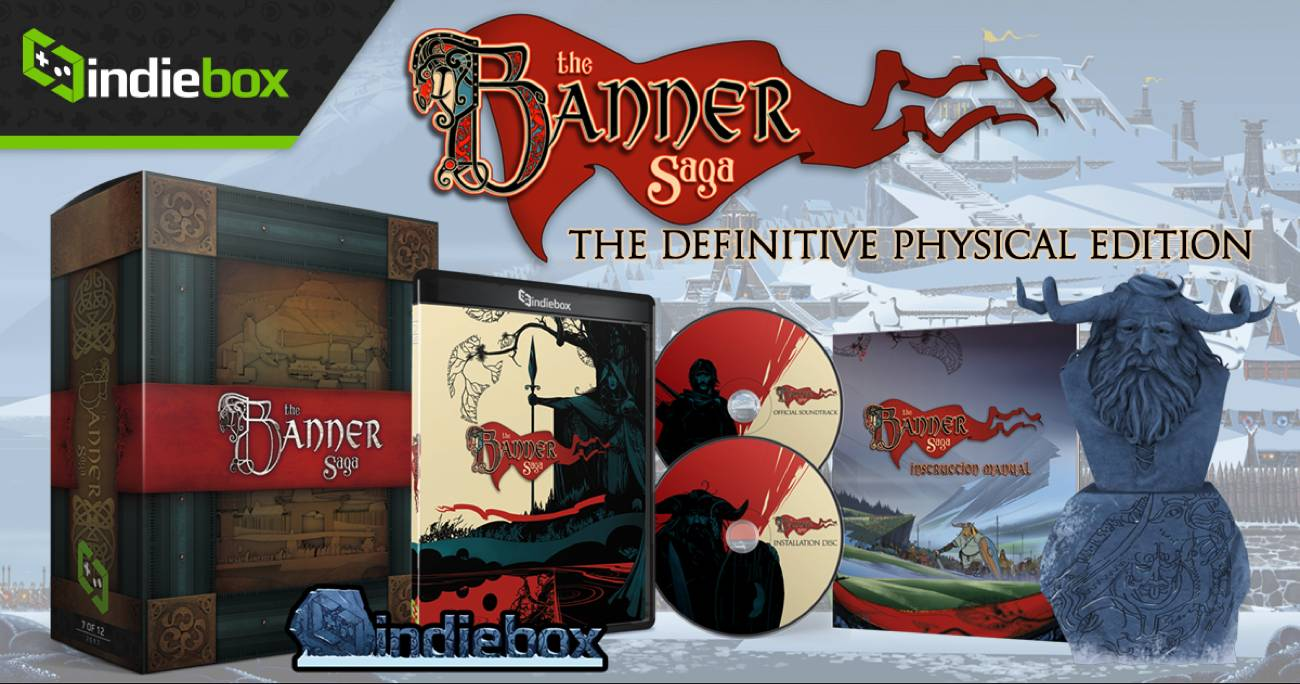 The Banner Saga The Definitive Physical Edition Indiebox
