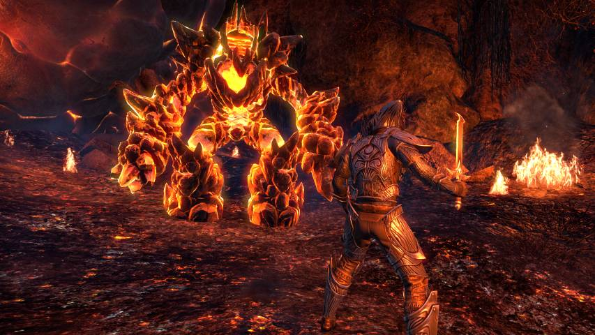 eso-morrowind-lava-fight
