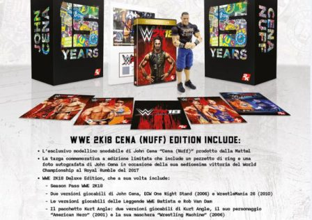 Collector's Edition di WWE 2K18
