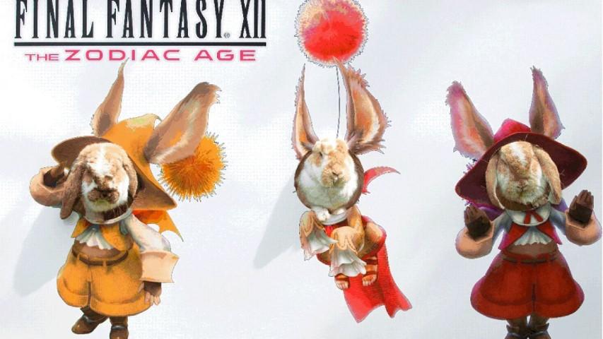 Final Fantasy XII The Zodiac Age Moogle Watch