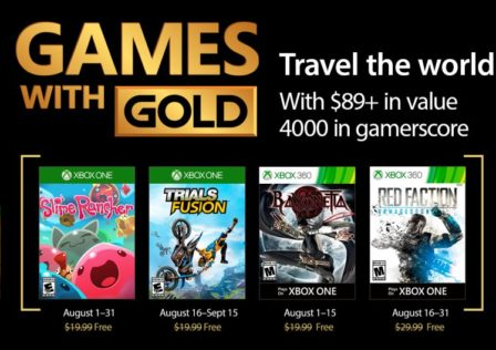 Games With Gold agosto 2017