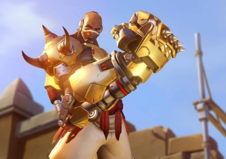 Over Watch Doomfist