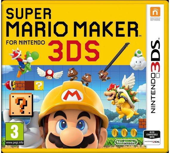 SUper Mario Maker DS