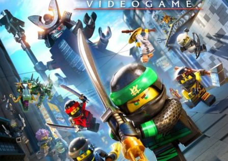 The LEGO NINJAGO Movie Video Game KeyArt