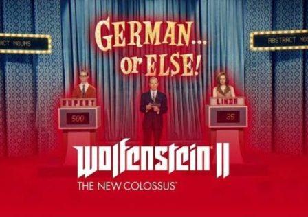 Wolfenstein II The New Colossus dillo in tedesco... altrimenti
