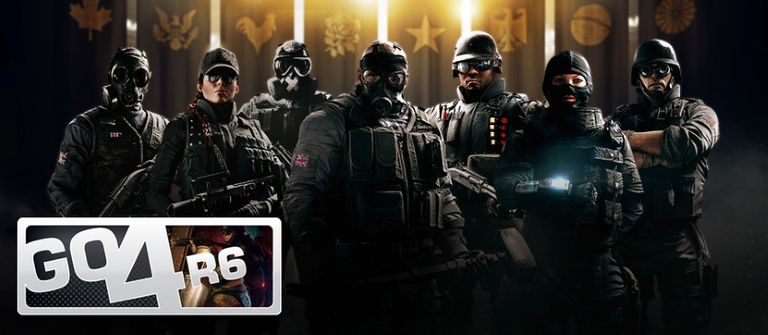 eSport GO4 di Rainbow Six Siege