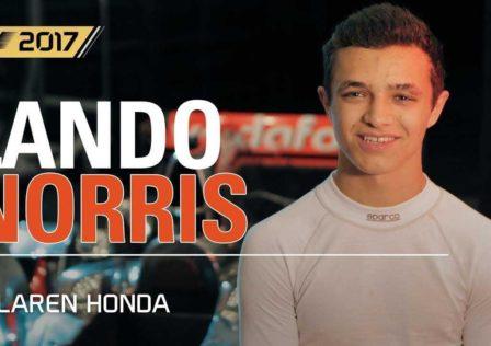 F1 2017 Lando Norris