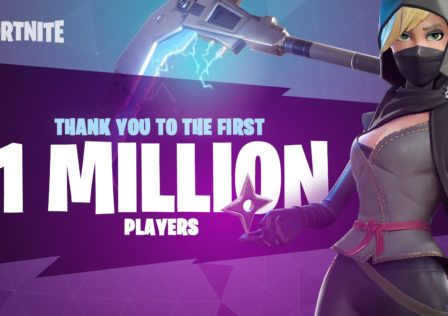 Fortnite 1 milione di giocatori