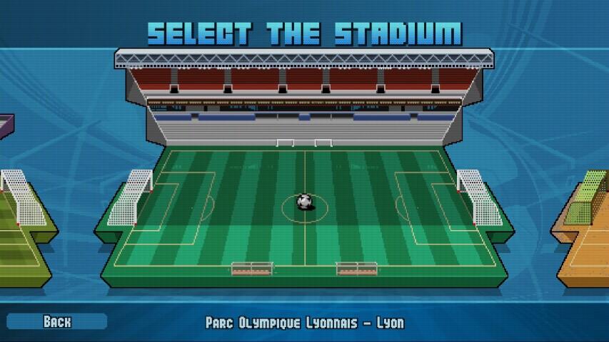 Pixel Cup Soccer 2017 Selezione stadi