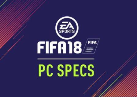 Fifa 18 Specs