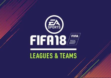 Fifa 18 lista squadre