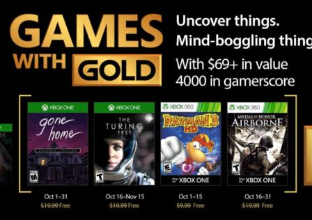 Games with gold ottobre 2017