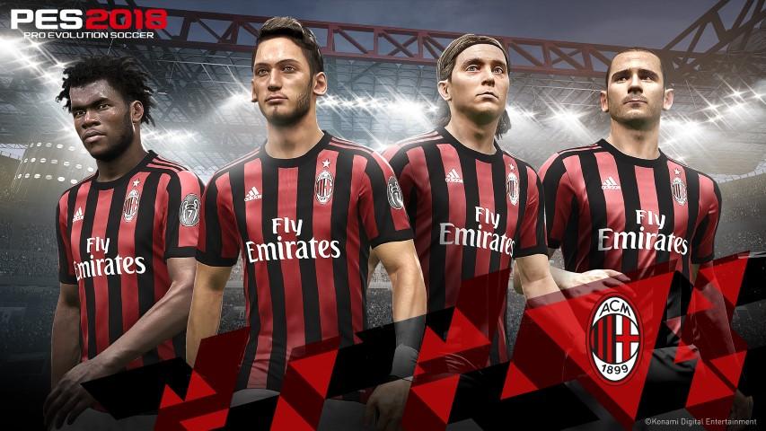 PES 2018 AC Milan