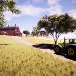 Real Farm_Screenshot_Driving to Barn
