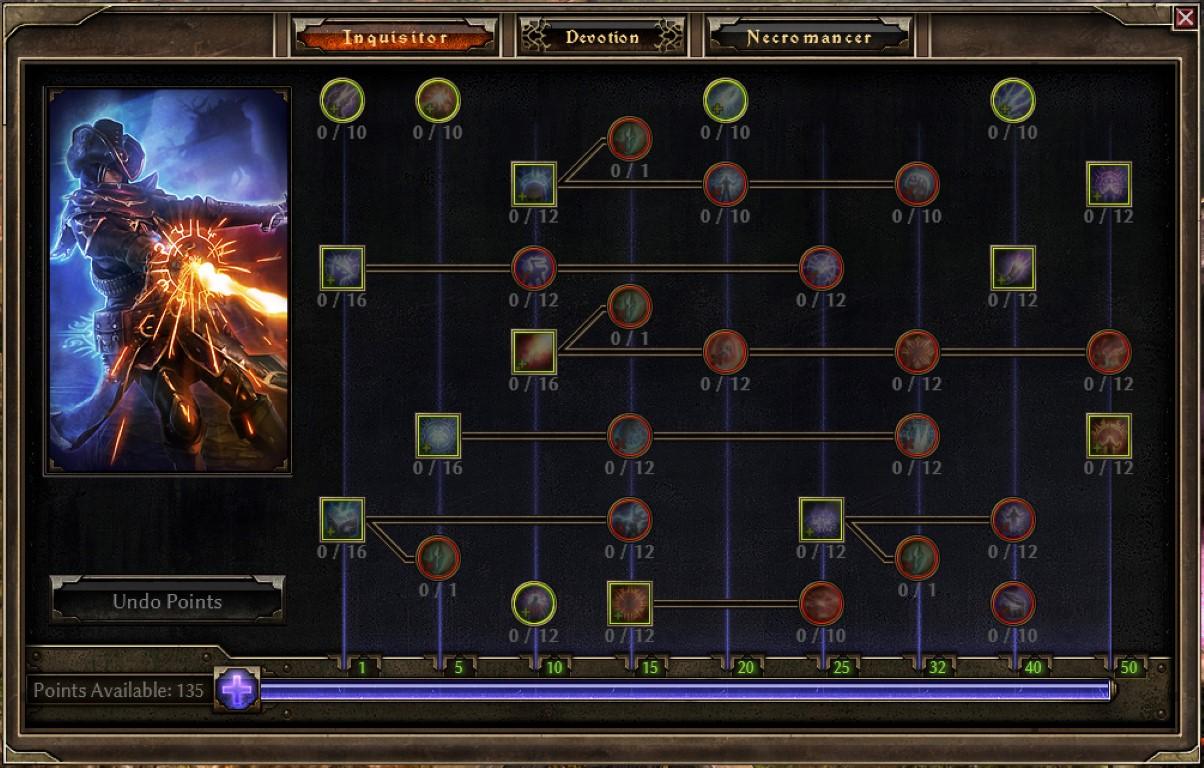 Inquisitor Mastery