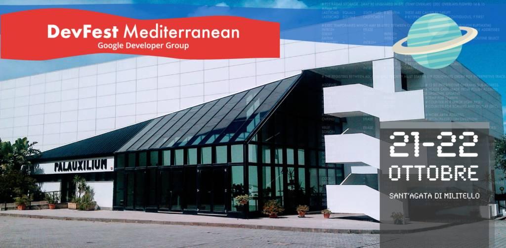 Il Palauxilium sarà il teatro della due giorni della DevFest Mediterranean 2017 di Google