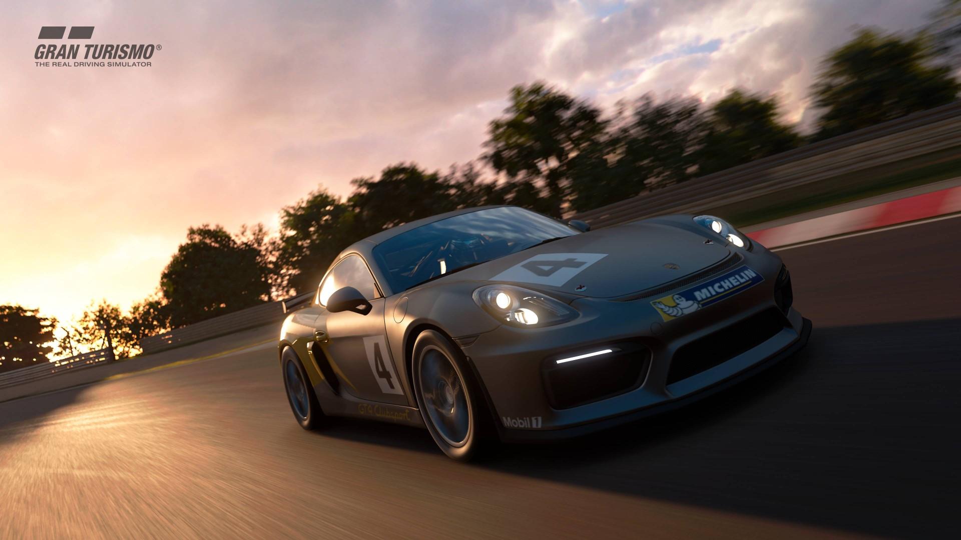 Porsche Cayman GT4 GTSport