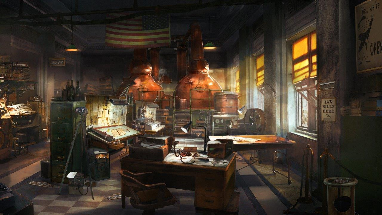ROW_Wolfenstein II_Distillery_american_bank