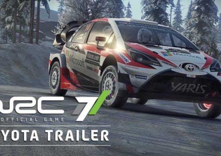 WRC 7 Toyota Yaris